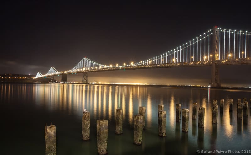 San Francisco by Night: Bay Bridge