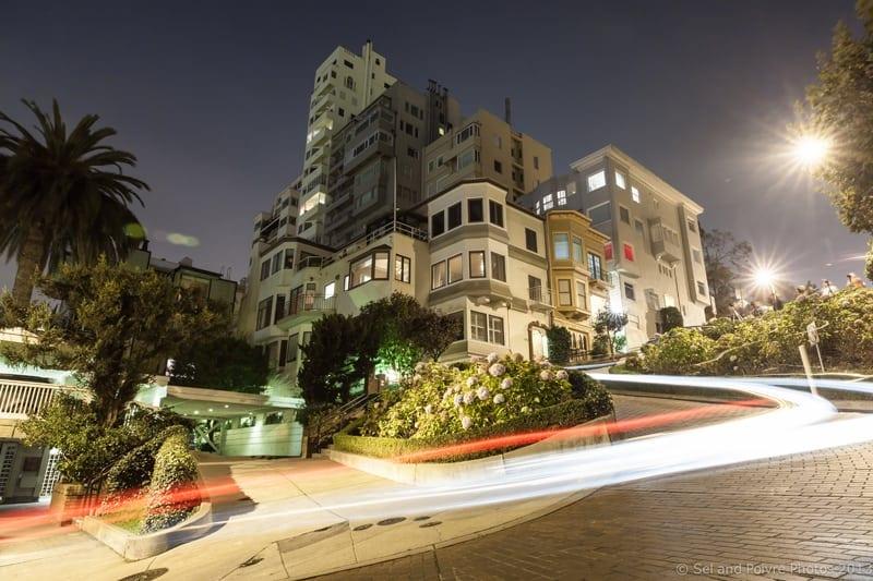 San Francisco by Night: Lombard Street
