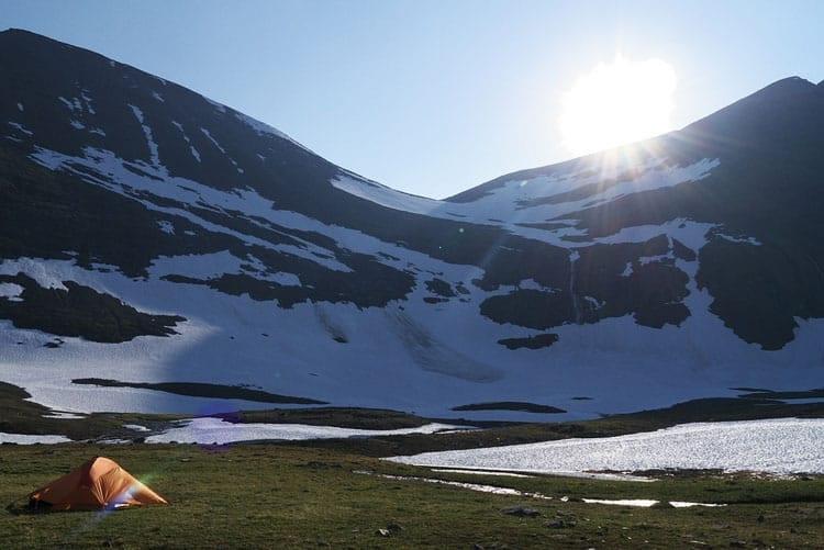 Wild Camping Lapland