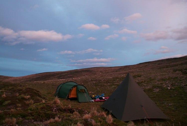 Wild Camping Patagonia