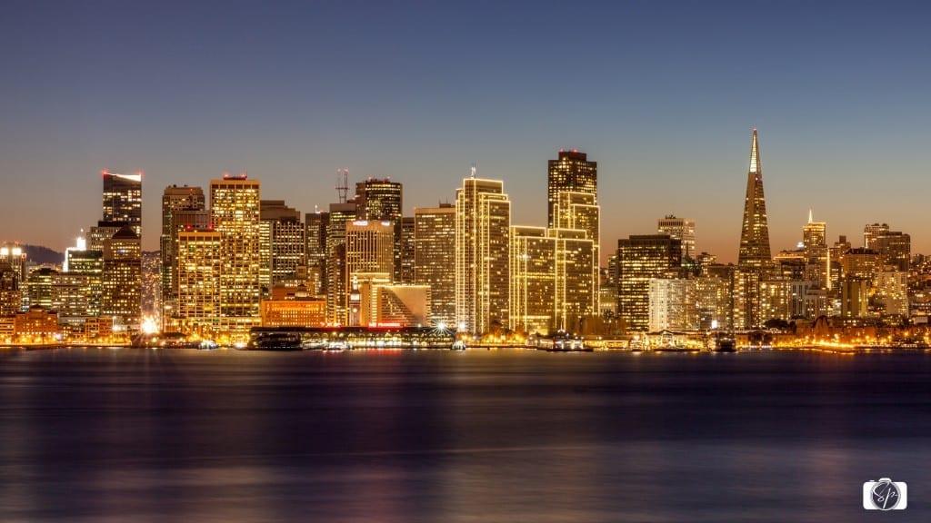 San Francisco By Night Treasure Island