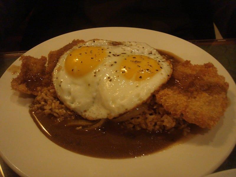chicken katsu moco