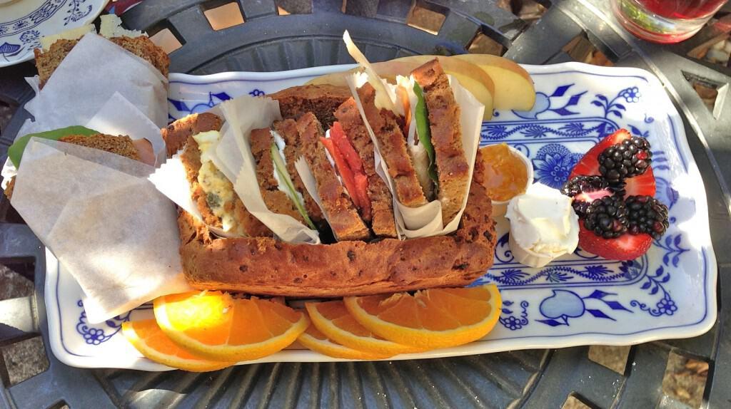 Tal-Y-Tara Tea Polo Shoppe Sandwich