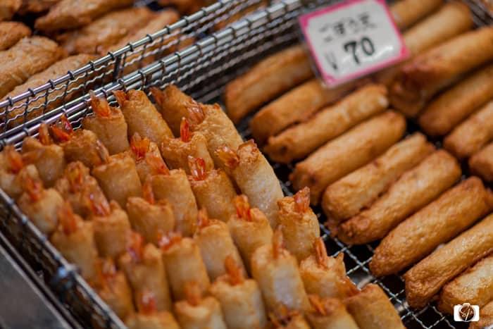 Kyoto Nishiki Market Fried Tempura