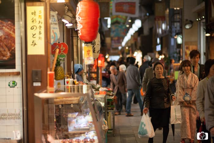 Wearing a Kimono in Kyoto: Kimonos in Nishiki Market