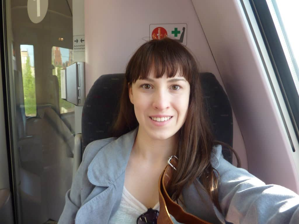Traveler Tuesday – Kayla Kiteley of The Princess of Tea - Train ride