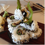Friday Food Foto – Hamakua Mushroom Poke Roll