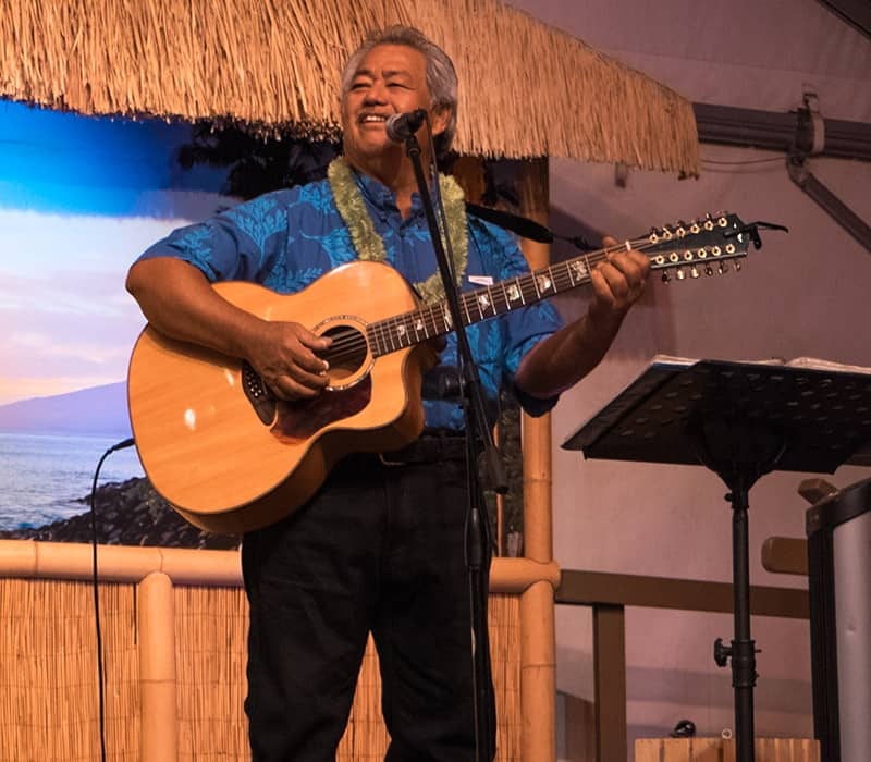Masters of Hawaiian Slack Key Guitar Show at Napili Kai