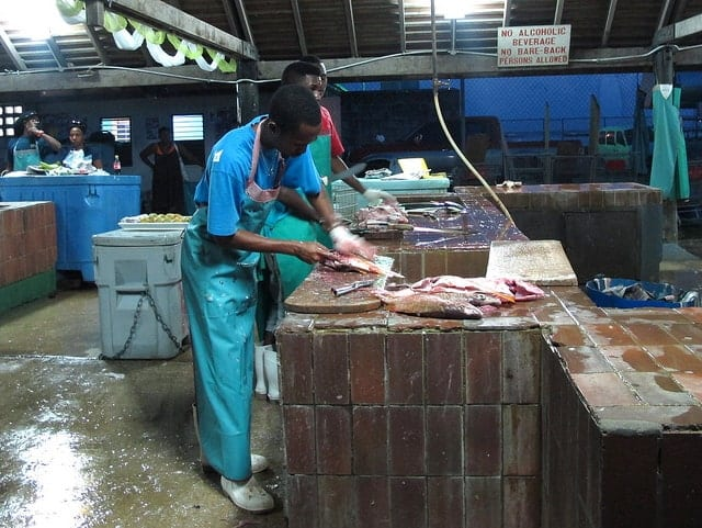 Fish Market Barbados