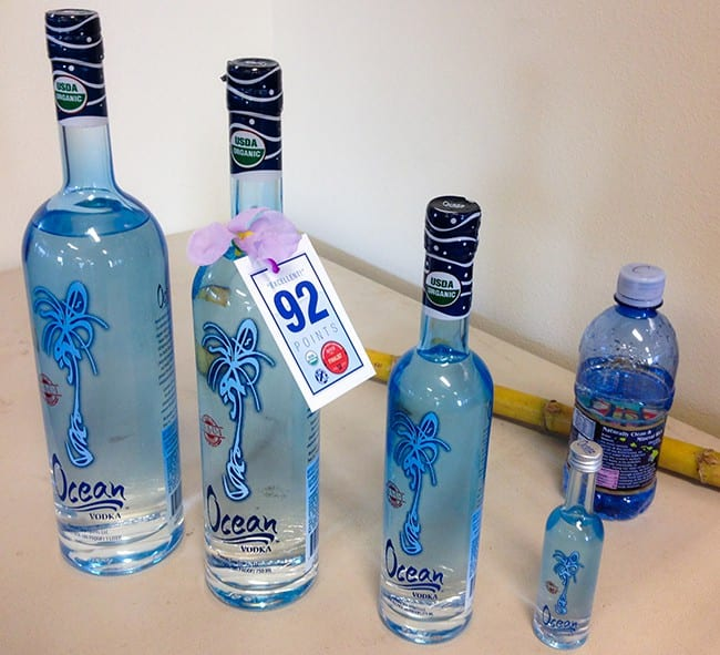 Ocean Vodka Sizes