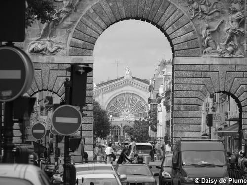 Arch St Martin - Gare de l'Est in distance  @ Daisy de Plume