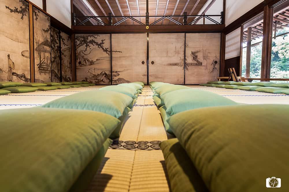 Inside Kennin-ji Tatami Kyoto Japan