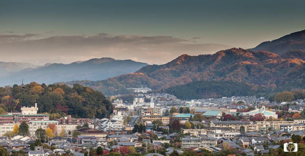 Kyoto form the Westin Miyako Roof