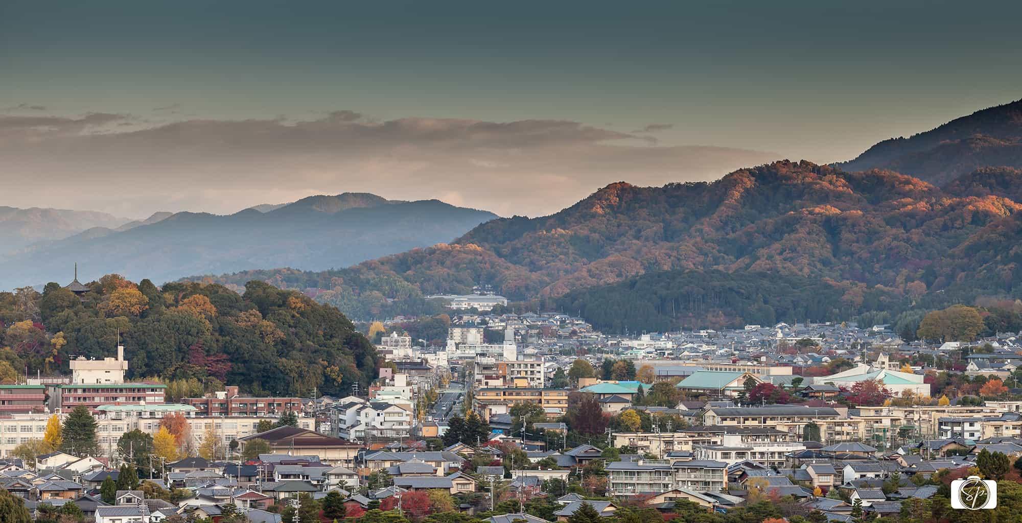 Kyoto formthe Westin Miyako Roof