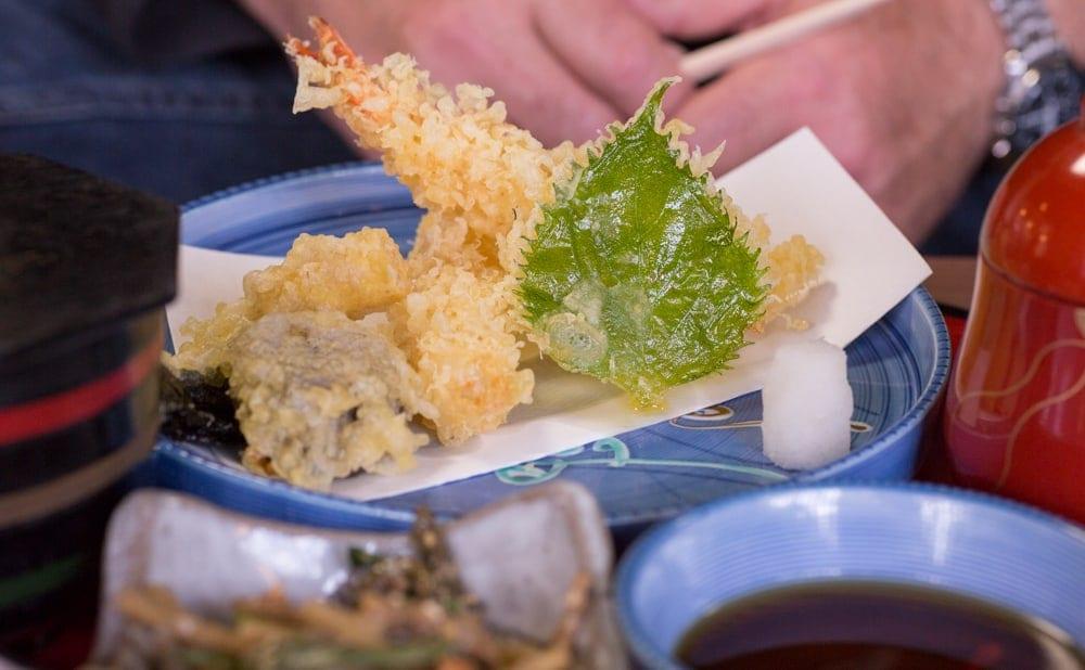 Kyoto Food - Tempura at Ohara