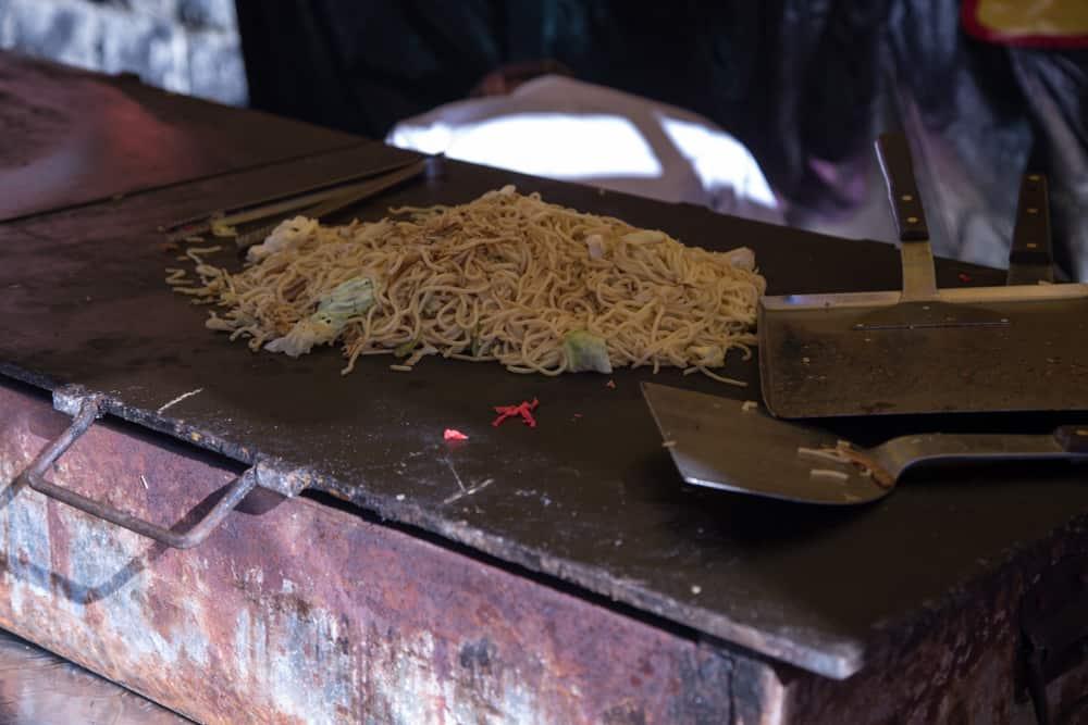 Kyoto Food - Fushimi Inari Yakisoba