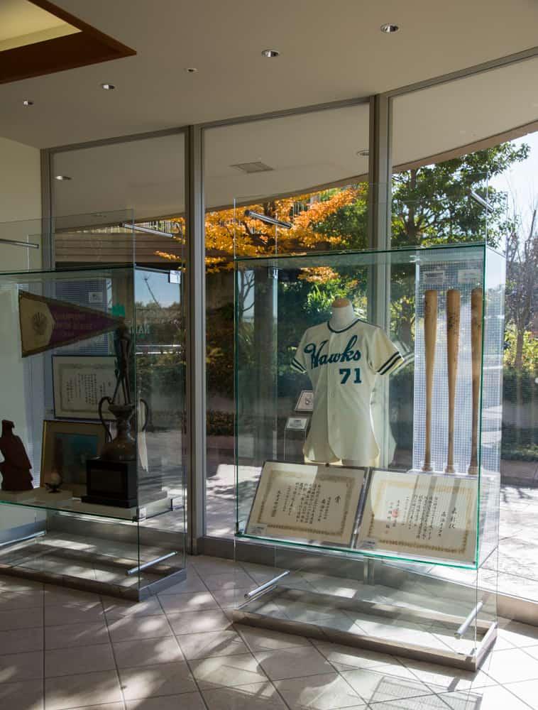 Namba Parks Nankai Hawks baseball museum
