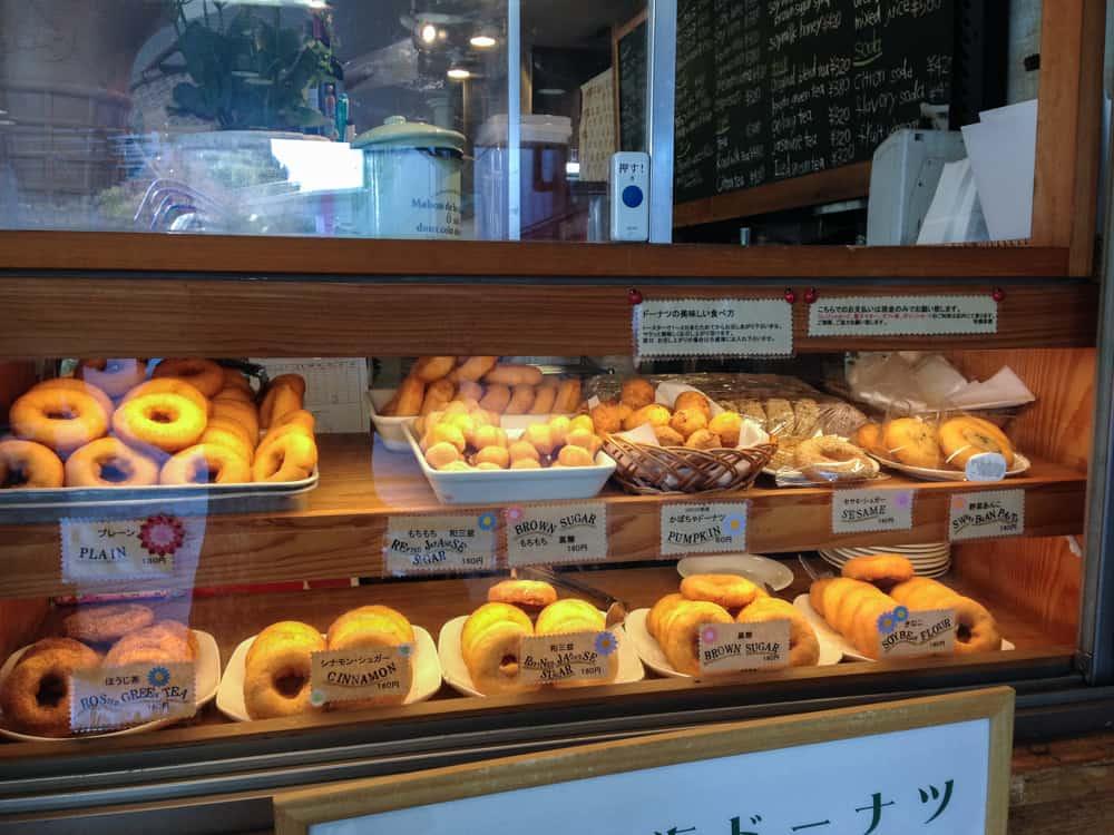 Namba Parks Saryo Cafe Donuts