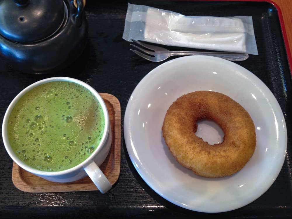 Namba Parks Saryo Cafe Donut