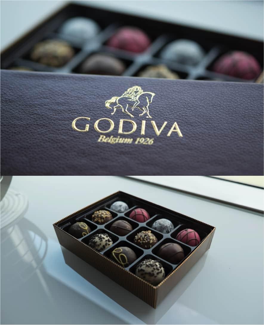 Godiva summer treats for Go diva