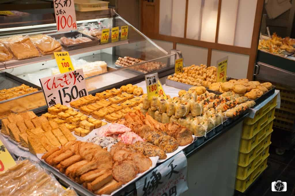 Oden Osaka's Kuromon-Ichiba Market
