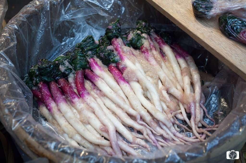 Vegetables in Miso Paste Osaka's Kuromon-Ichiba Market