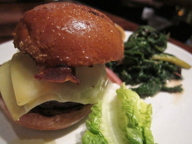 San Francisco's Best Cheeseburgers - nopa burger