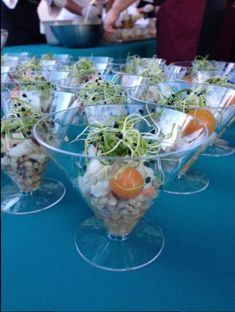Corks and Forks - HFWF14-Ceviche