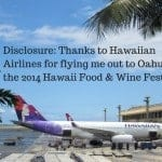 Lunch at Hawaiian Airlines