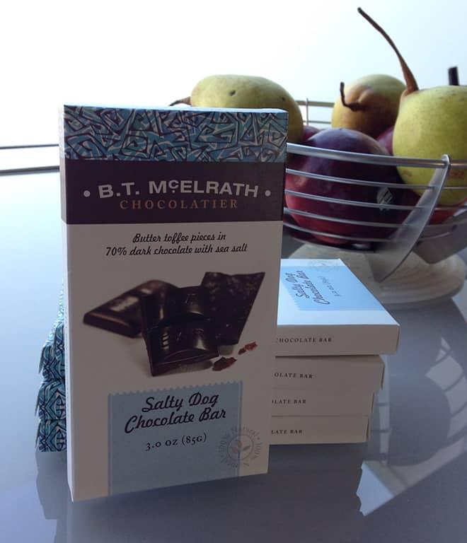 B. T. McElrath Chocolatier Salty Dog Chocolate Bar