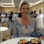 Food blogger Candi at Cupcake Show
