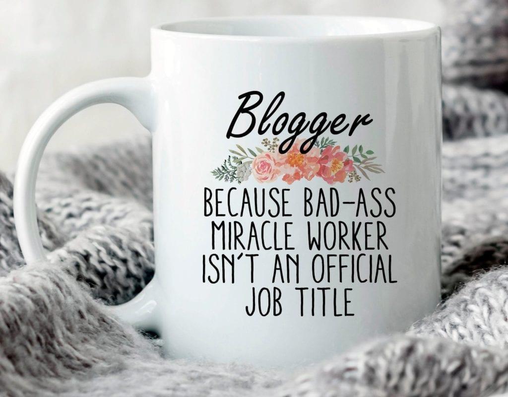 Blogger Mug from WestStudico