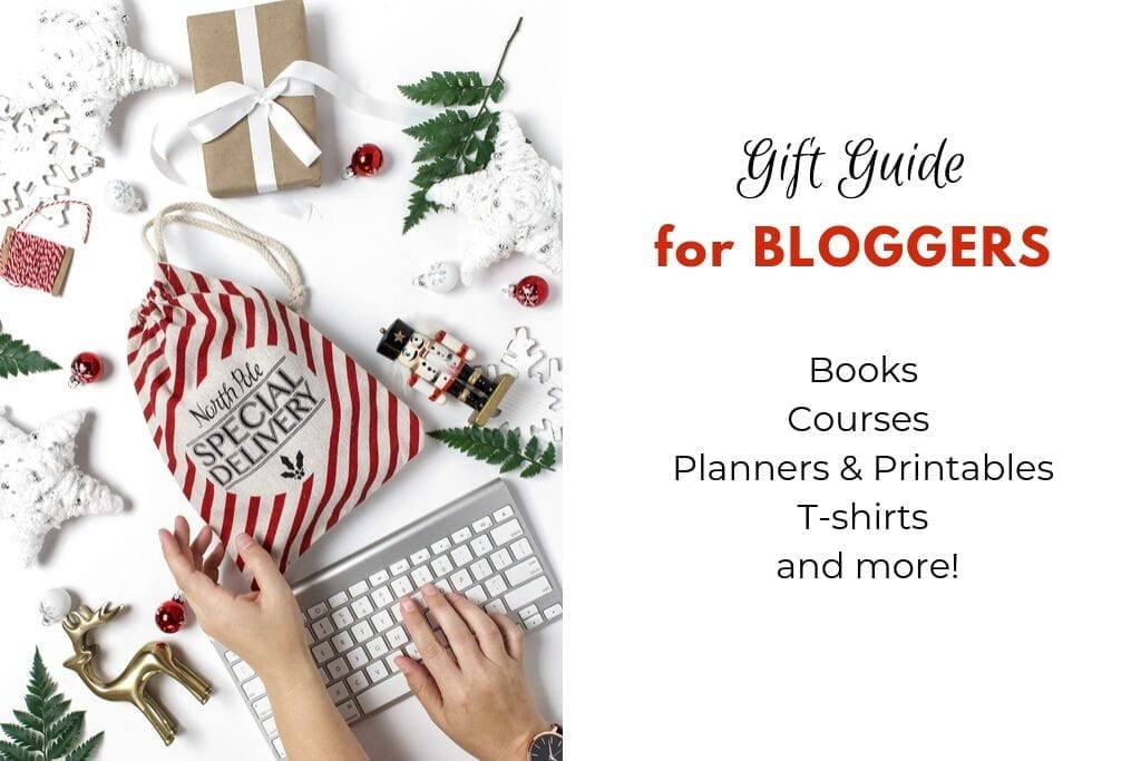 Gift Guide for Bloggers Blog