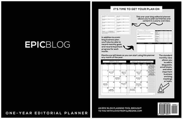 EPICBLOG-Planner