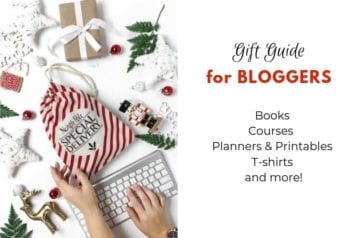 Gift Guide for Bloggers Hero