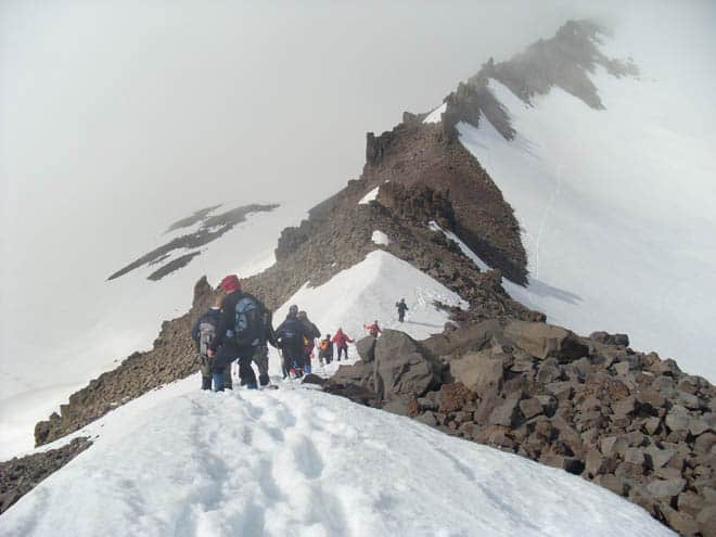 Travel-blogger Jón of Stuck in Iceland Hiking above Akureyri