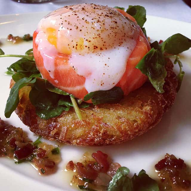 Smoked-micuit-trout-on-top-of-rosti-potato-cake-with-an-egg-on-top