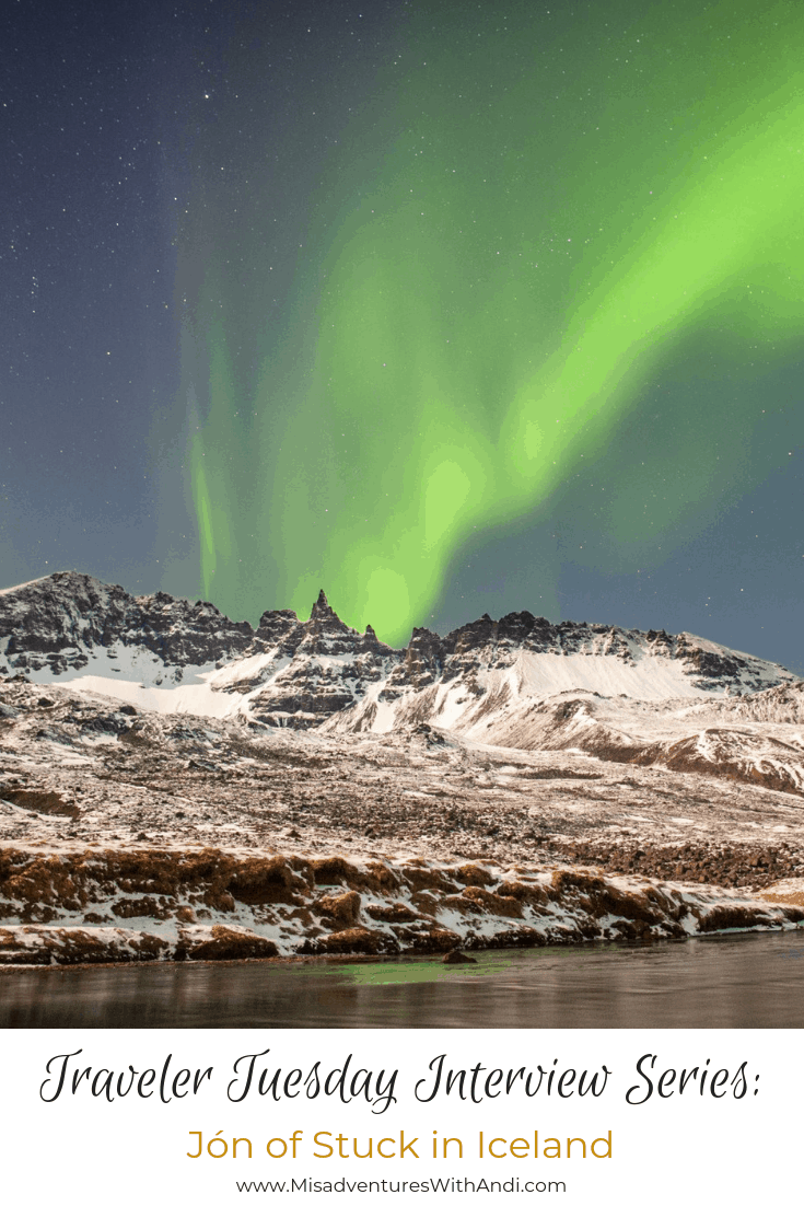 Traveler Tuesday Travel Blogger Interview with Jon of Stuck in Iceland