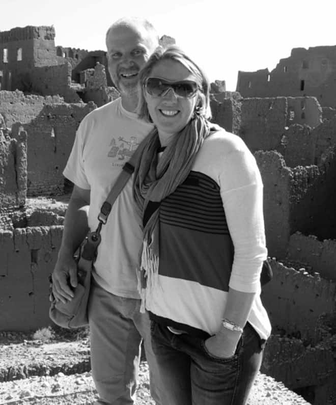 Travel bloggers Vagrants Of The World in Morocco