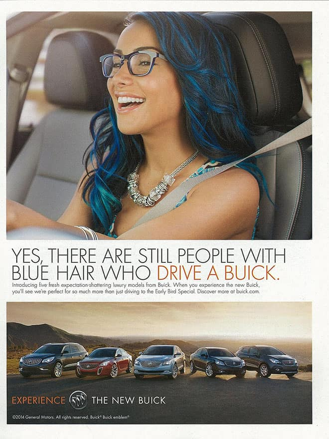 Buick Blue Hair