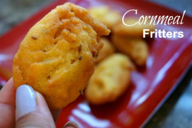 Food-blogger- Vanessa of Smart Little Cookie Cornmeal-Fritters