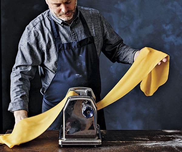 chef Tusk making pasta
