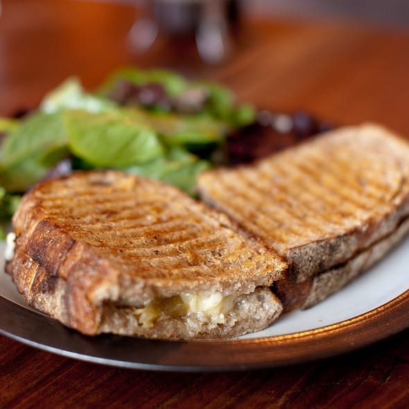 Great Grilled Cheese in San Francisco: Mission Cheese Chedd or Alive