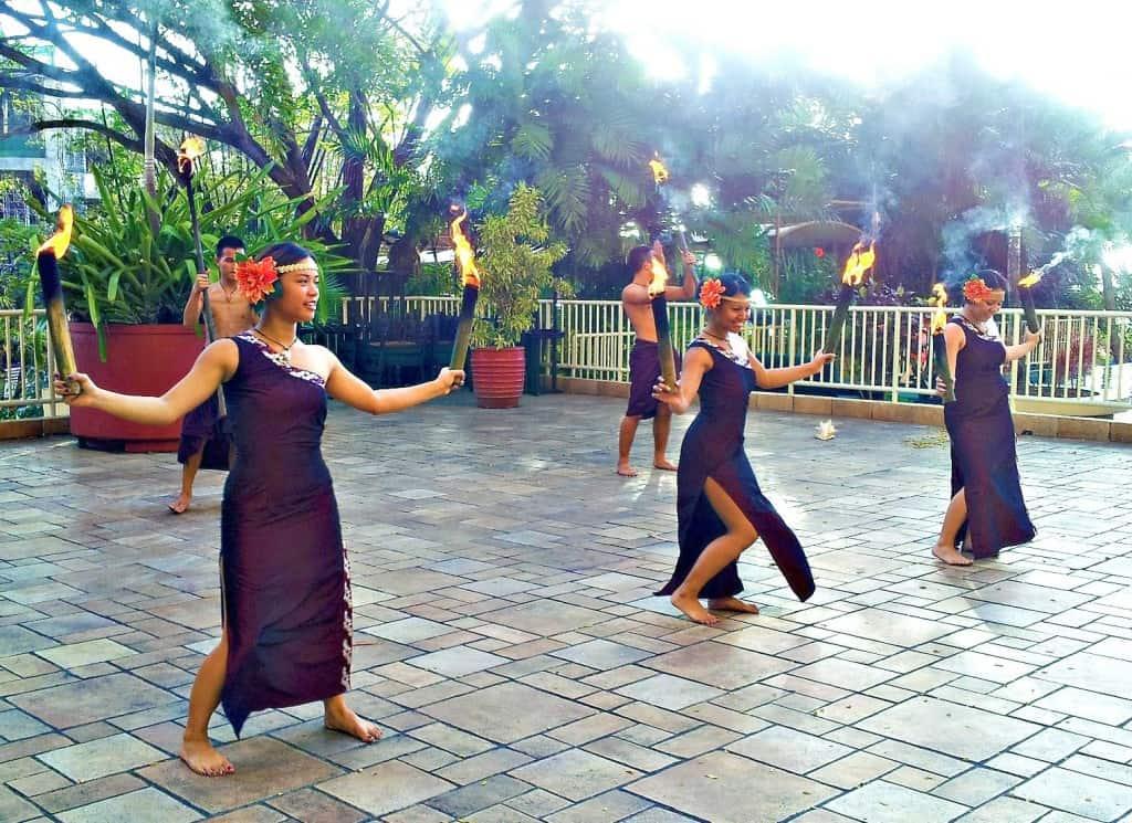 Outrigger Guam Cultural Dance Performance