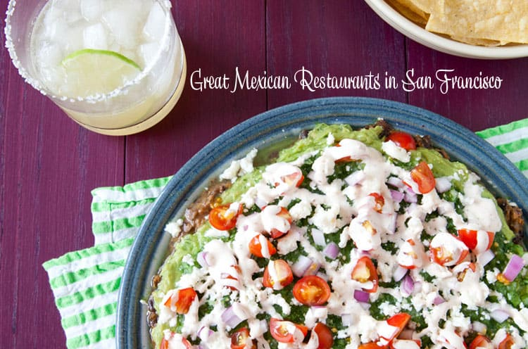 Great Mexican Restaurants in San Francisco