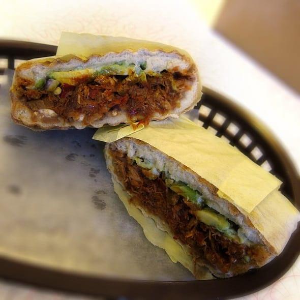Mexican Restaurants in San Francisco - Pierna-Enchilada-Torta-La-Torta-Gorda