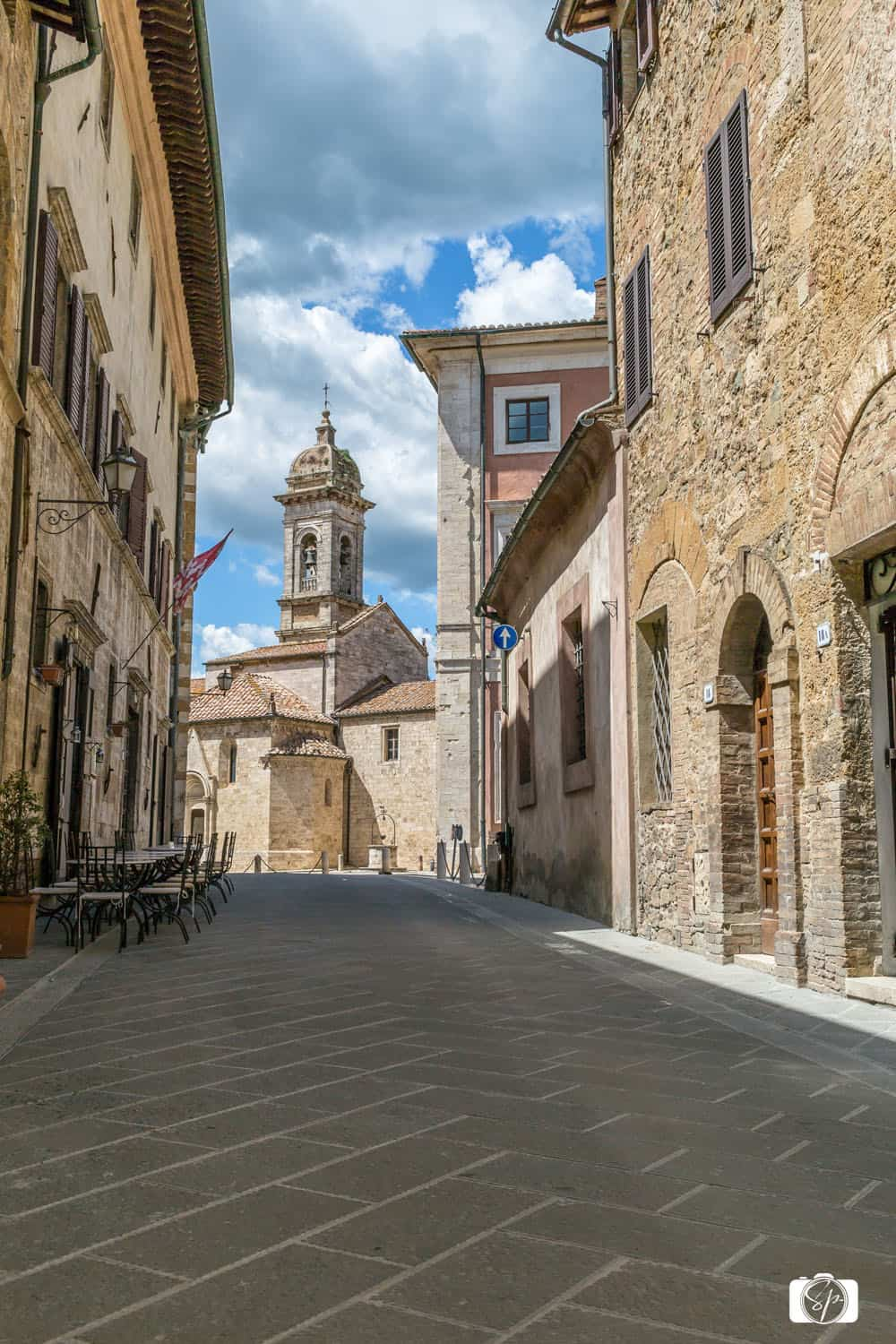 San Quirico d'Orcia in Tuscany Italy