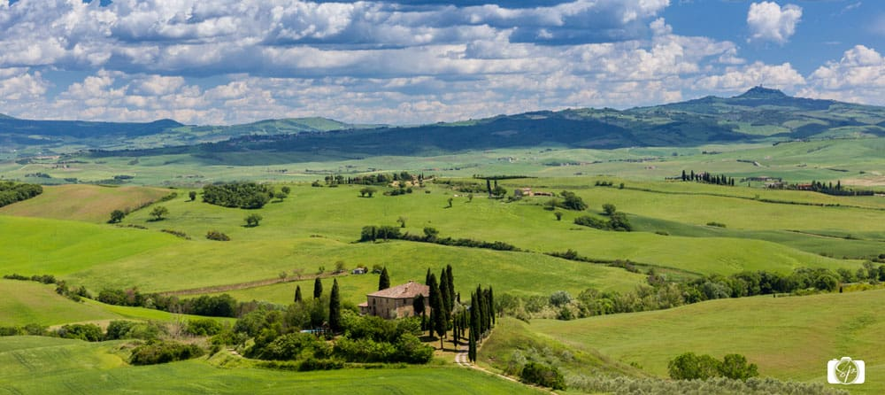 Rural Hills of Tuscany Italy