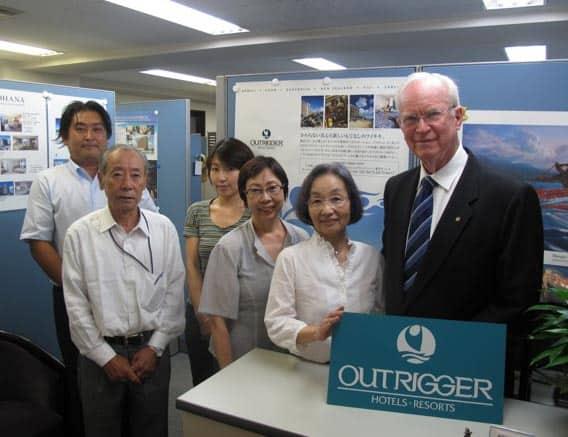 Richard Kelley in Japan