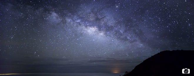 Milky Way over Mauna Kea